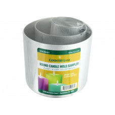 Набор форм для изготовления свечей, 3 шт (CLN50207)