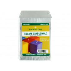 Форма для свечи, алюминий, Квадратная (CLN50206)