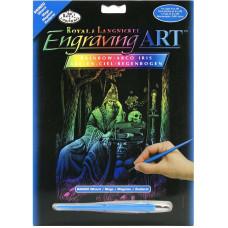 Набор для выцарапывания Royal Brush Silver Foil, Маг (RAINFL 20)