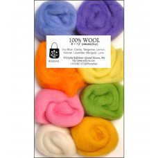 Шерсть для валяния Wistyria Editions Cotton Candy (WSTW854R)