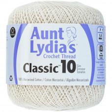 Нитки Aunt Lydias Classic Crochet Size 10 Ecru (154 419)