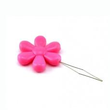 Нитевдеватель Only Цветочек ярко-розовый (223402)