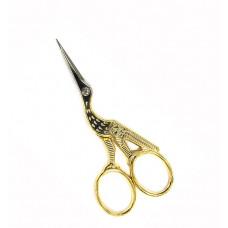 Ножницы для подрезки ниток Premax Цапельки золотистые, 11 см (FRB7125312D)