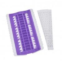 Органайзер для игл с нитками Only фиолетовый (43402)