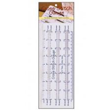 Линейка для определения каунта канвы Yarn Tree (2492)