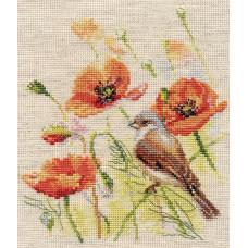 Набор для вышивания крестом Алиса Ремез (1-25)