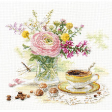 Набор для вышивания Алиса Утренний кофе (5-18)