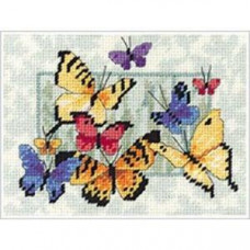 Набор для вышивки Bucilla Сюрприз с бабочками (04764)