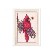 Набор для вышивки Bucilla Птица кардинал (43388)