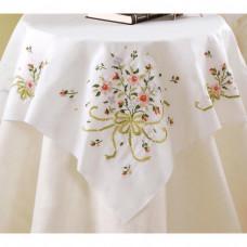 Набор для вышивки Bucilla Скатерть Свадебные букетики (45179)