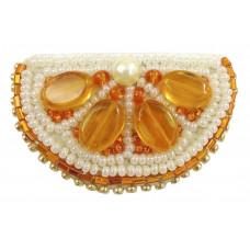 Набор для изготовления брошки Crystal Art Апельсин (БП-239)