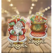 Набор для вышивания Чарівна мить Сказка. Дед Мороз (Т-56)