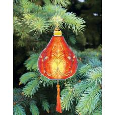 Набор для вышивания крестиком Чарівна мить Оранжевый фонарик (Т-22)