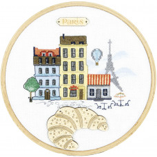Набор с пяльцами Париж (М-304)