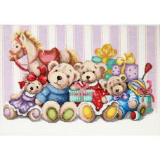 Набор для вышивки крестиком Чарівна Мить Мягкие игрушки (М-387)