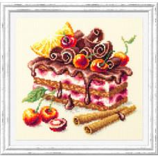 Набор для вышивания Чудесная Игла Вишневый торт (120-072)