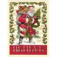 Набор для вышивания Dimensions Belive in Santa (70-08980)