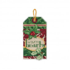 Набор для вышивания крестиком Dimensions Теплые сердца (70-08892)