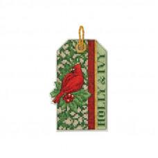 Набор для вышивания крестиком Dimensions Holly Ivy (70-08888)