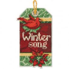 Набор для вышивания крестиком Dimensions Песня зимы (70-08891)