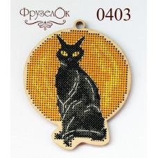 Черная кошка. Светится в темноте (0403)