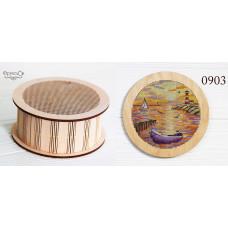 Набор для вышивки шкатулки Лодочка (0903)