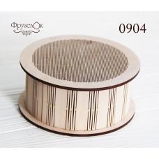 Заготовка для вышивания крестиком на деревянной основе Круглая (0904)