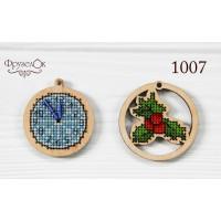 Игрушки Часы и остролист (1007)