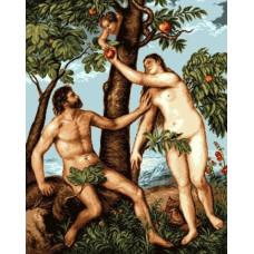 Набор для вышивки GOBLENSET Адам и Ева (G852)