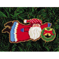 Набор для вышивки Yarn Tree Приветственный веночек от Санты (4255)