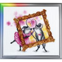 Набор для вышивания ЛанСвіт Мимимышки: День влюбленных (Д-060)