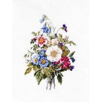 Букет летних цветов (BU4004)
