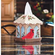 Набор для вышивки Mary Maxim Кормушка для птиц (21595)