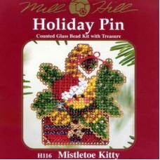 Набор Mill Hill Mistletoe Kitty (H116)