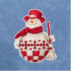 Набор для вышивания Mill Hill Северный снеговик (JS201916)
