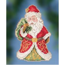 Набор для вышивания Mill Hill Gift Bearing Santa ( JS202015)