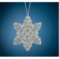 Набор для вышивания Mill Hill Crystal Snowflake (MH212011)