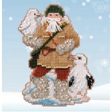 Набор для вышивания Mill Hill Albatross Santa (MH202033)