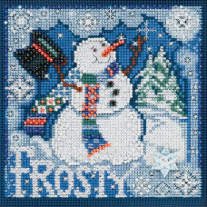 Набор MillHill, Frosty Snowman (MH140304)