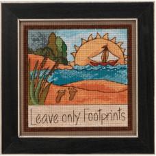 Набор для вышивания Mill Hill Leave Only Footprints (ST152012)