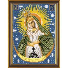 Рисунок на канве для вышивания бисером - иконы