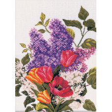 Сирень и тюльпаны RTO (M205)