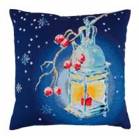 Подушка Теплый свет Рождества RTO (CU013)