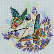 Часы Радужные бабочки (M40014)