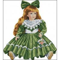 Кукла в зеленом Vervaco (45602)