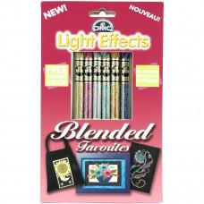 Набор мулине DMC Blended Favorites - DMC Light Effects  (LTE317WPK8)
