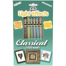 Набор мулине DMC Classical Blends - DMC Light Effects (LTE317WPK7)