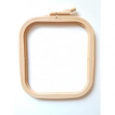 Пяльцы-рамка квадрат пластиковые Nurge 14,5 х 16,5 см (170-12)