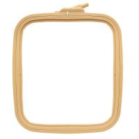 Пяльцы-рамка квадрат пластиковые Nurge 22,0х19,5 см (170-13)