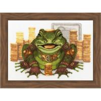 Набор для вышивания крестиком Золотое руно Символ богатства (ЛС-007)